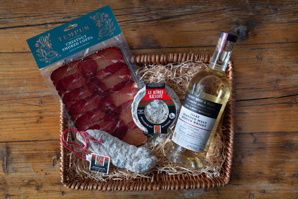 Load image into Gallery viewer, Classic Islay Whisky & Charcuterie Hamper