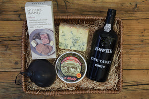 The Cheese and Port Hamper