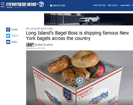 Long Island's Bagel Boss is shipping famous New York bagels across the country