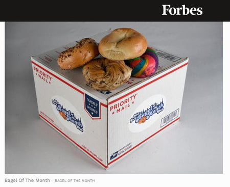 Bagel Boss Bagels makes Forbes List of Best Father's Day Gifts