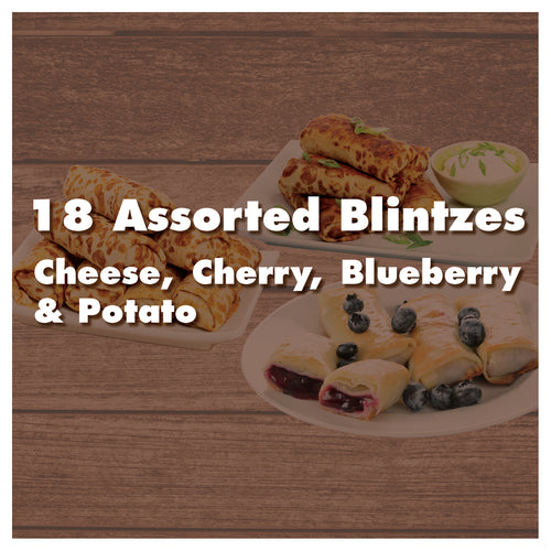 18 Assorted Blintzes