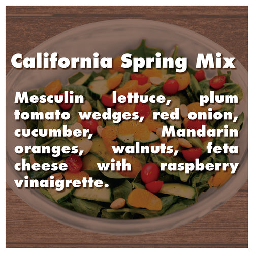 California Spring Mix