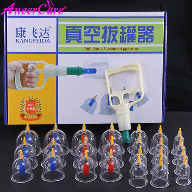 Health Care Chinese Medical Vacuum Cupping Cups Suction