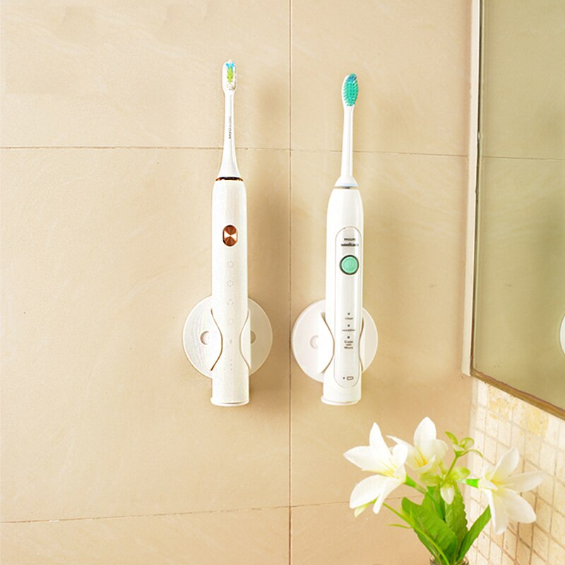 Creative Electric Toothbrush Wall-Mounted Holder for Bathroom