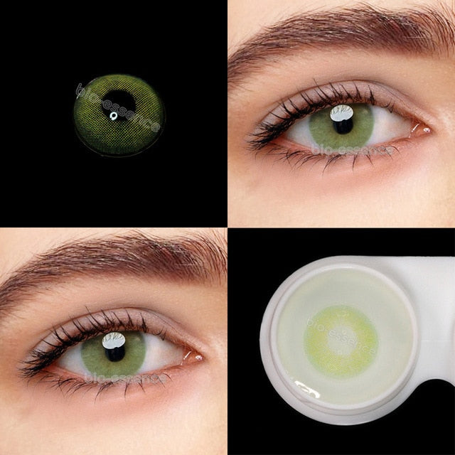 Bio-essence Official 1Pair(2pcs) Lenses With Diopters Polar Light  For Vision Beauty Natural