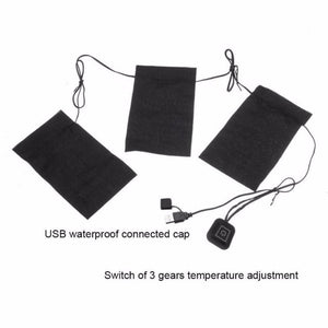 8-in-1 USB Electric 3-Speed Heating Pads for Clothing