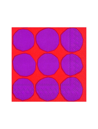 Kivet Lunch Paper Napkin (Red)
