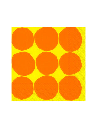 Kivet Lunch Paper Napkin (Yellow)