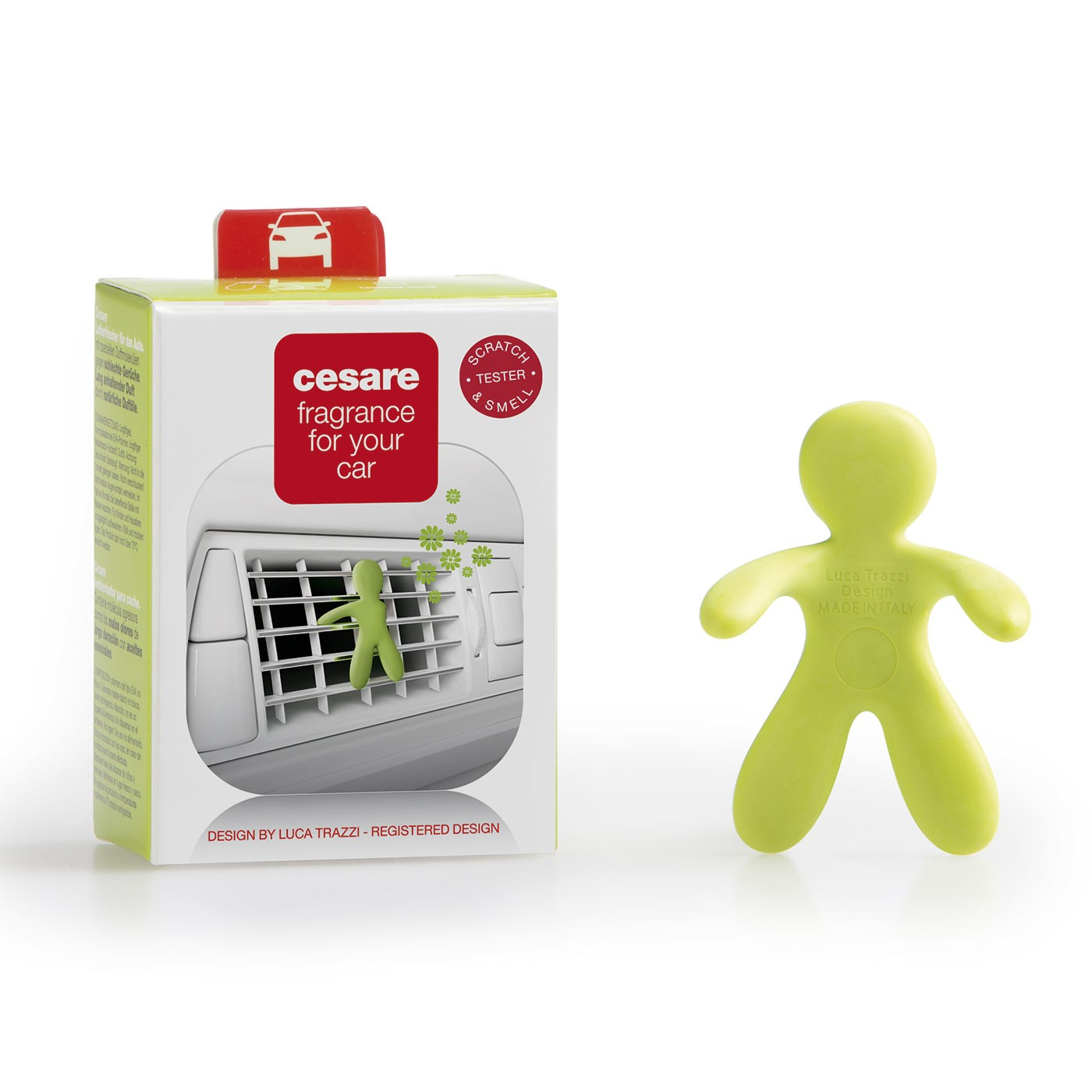 Cesare Car Freshner (Green - Citrus)