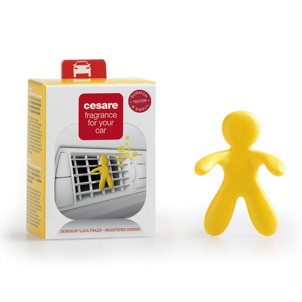 Cesare Car Freshner (Yellow - Vanilla)