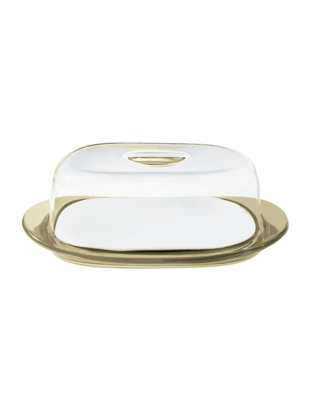 Cheese dish set: tray, chopping board and dome Feeling