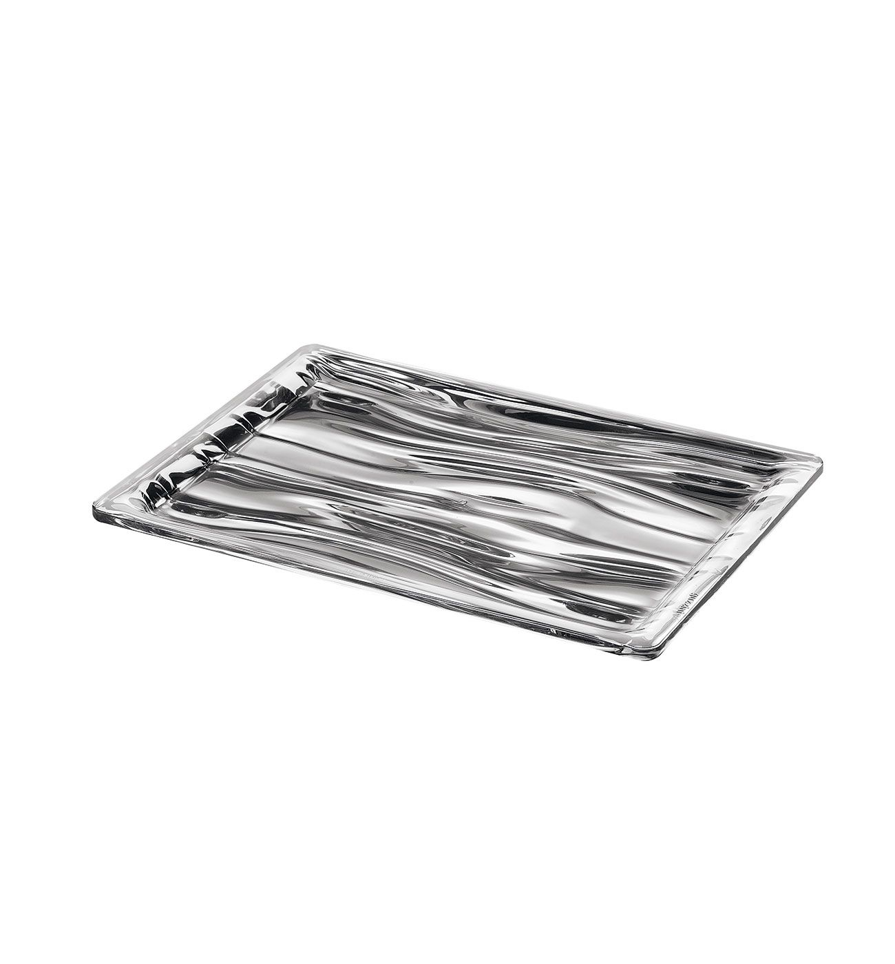 S Rectangular Tray Look (Chrome)