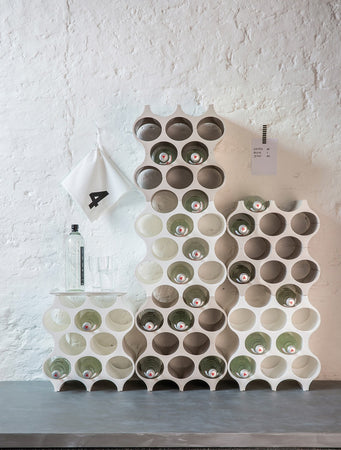 Set-up Bottle Rack (Solid stone)