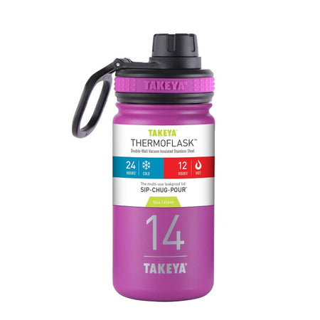 Thermoflask 14oz. (Orchid/Purple)