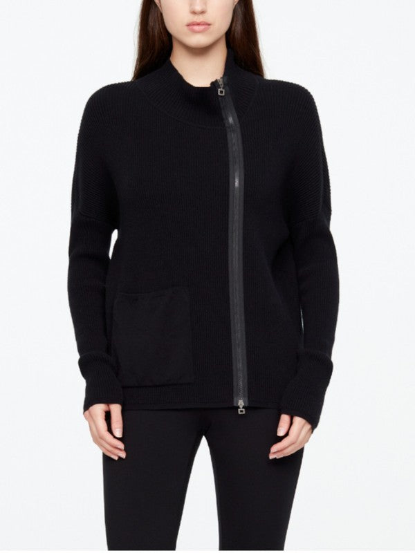 Sarah Pacini Strickjacke 20211058 black