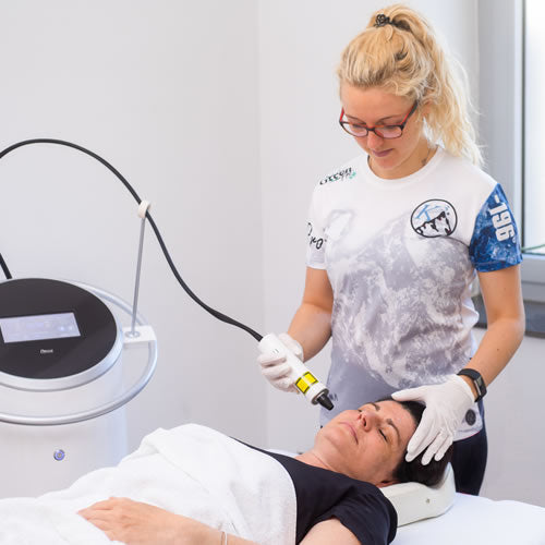Microdermabrasion mit CO2-Lifting