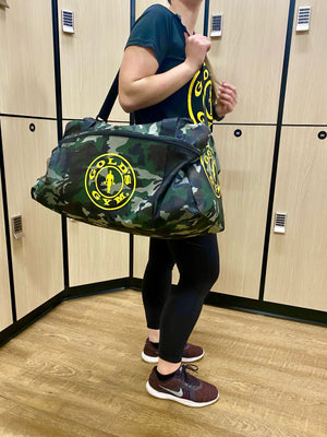 Gold's Gym Durable Woven Fitness Sports Bag - Camo/Army