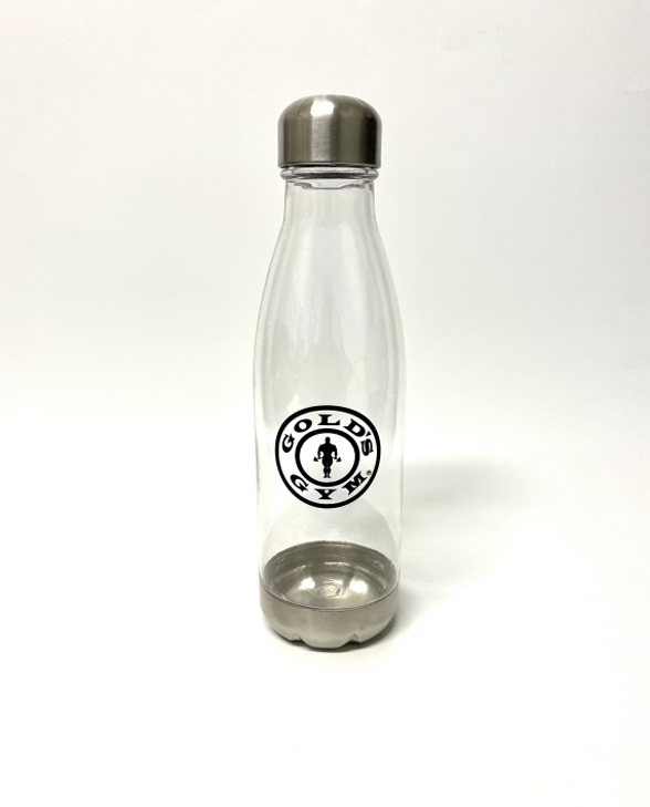 Gold's Gym Sports & Fitness Clear Water Bottle - Front Facing Image