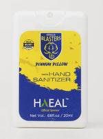 Load image into Gallery viewer, Hasta Pocket Hand Sanitizer - Kerala Blaster Yennum Yellow Edition - 20ml
