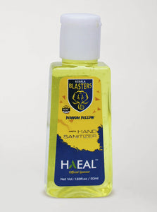 Hasta Hand Sanitizer - Kerala Blasters Yennum Yellow Edition - 50ml Pack of 2