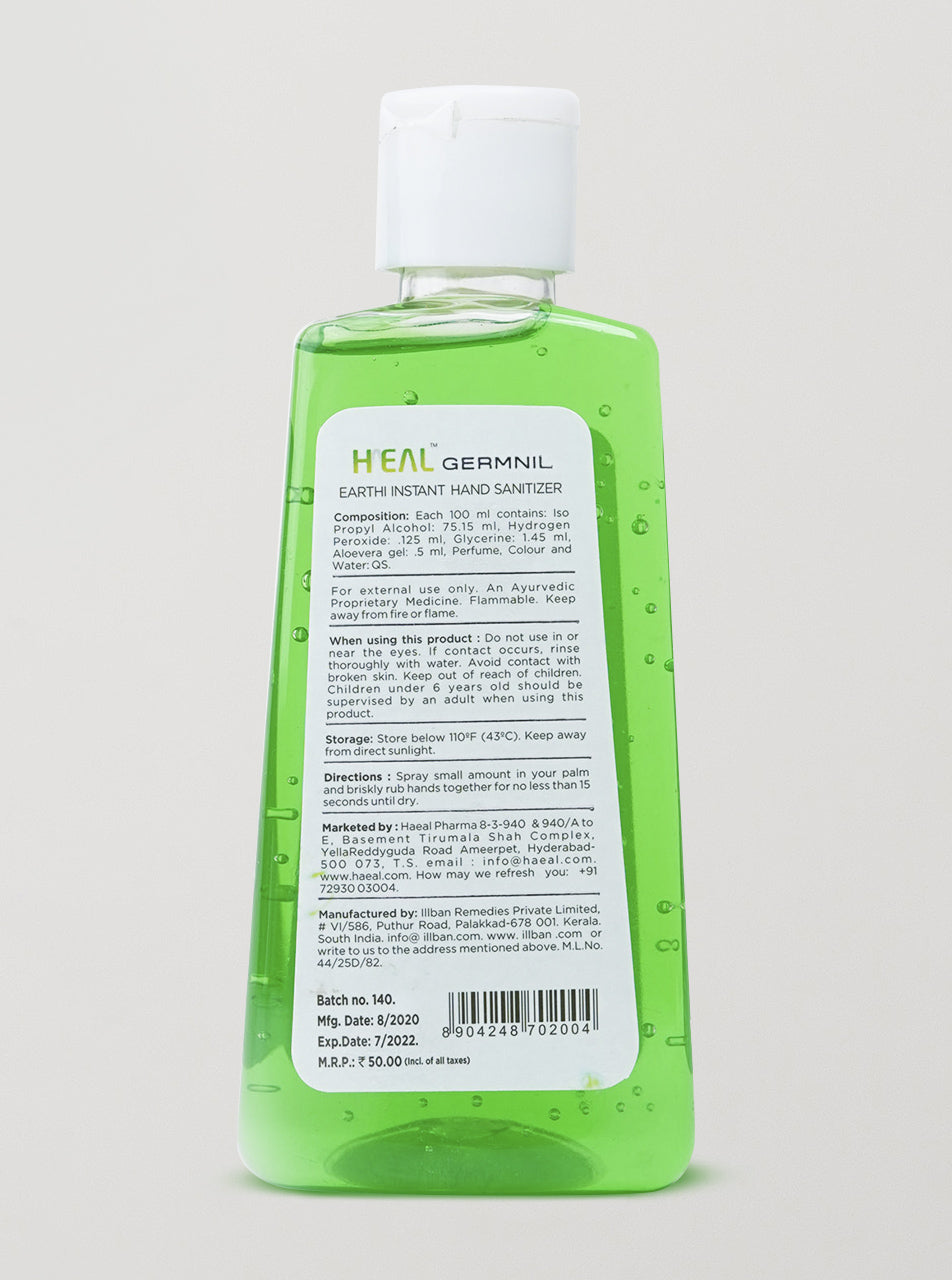Earthi Instant Hand Sanitizer 100 ml