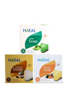 Pack of 3 Manjal, Almond, Lime