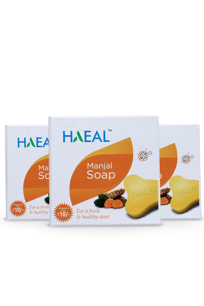 Manjal Soap  45g Pack of 3