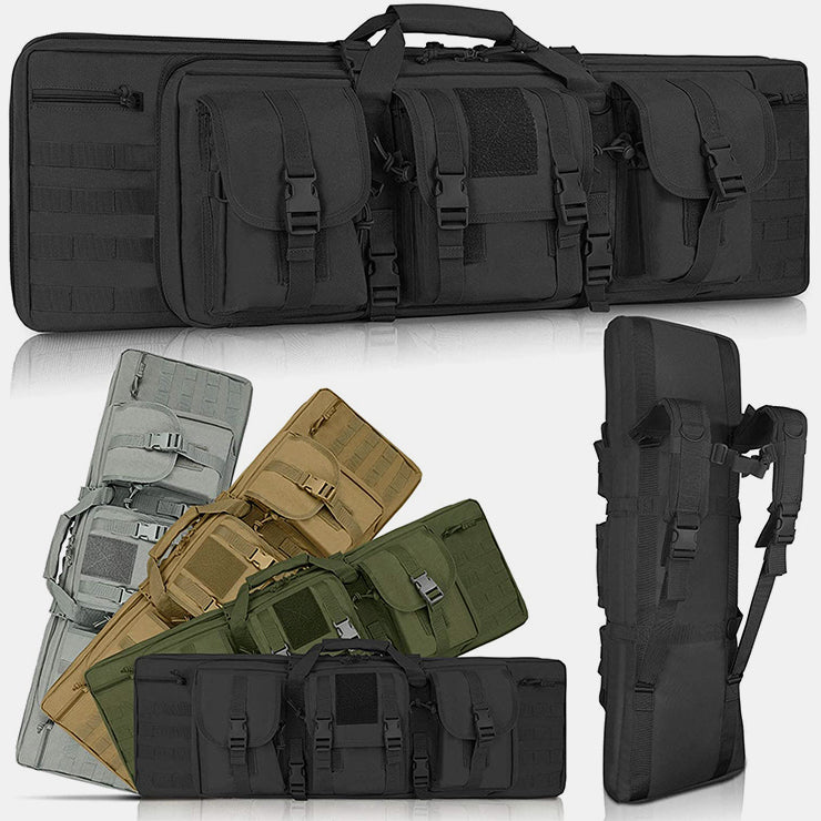 LUXHMOX Double Long Soft Rifle Case