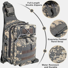 LUXHMOX Fishing Tackle Backpack Waterproof