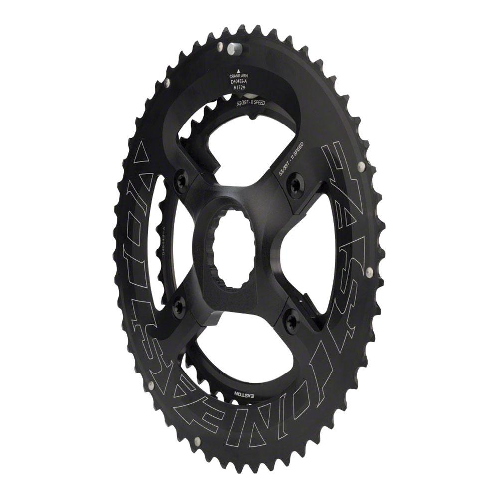 Easton CINCH Spider and Chainring Assembly for EC90 SL Crank - 52/36t, 11-Speed, Black