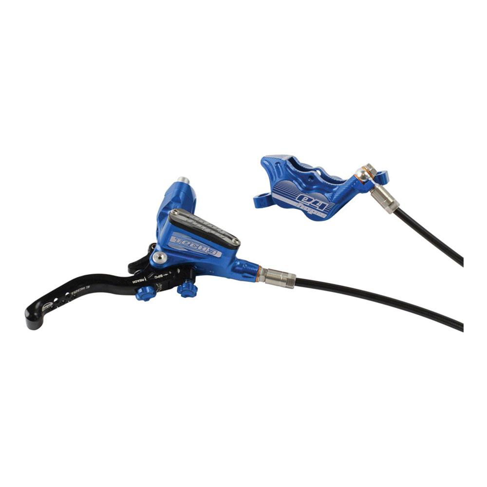 Hope Tech 3 E4 Disc Brake and Lever - Hydraulic, Post Mount