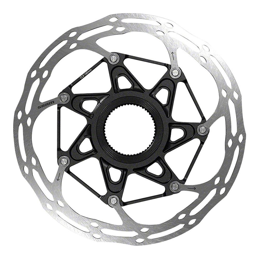 SRAM CenterLine X Disc Brake Rotor - 160mm, Center Lock, Silver/Black