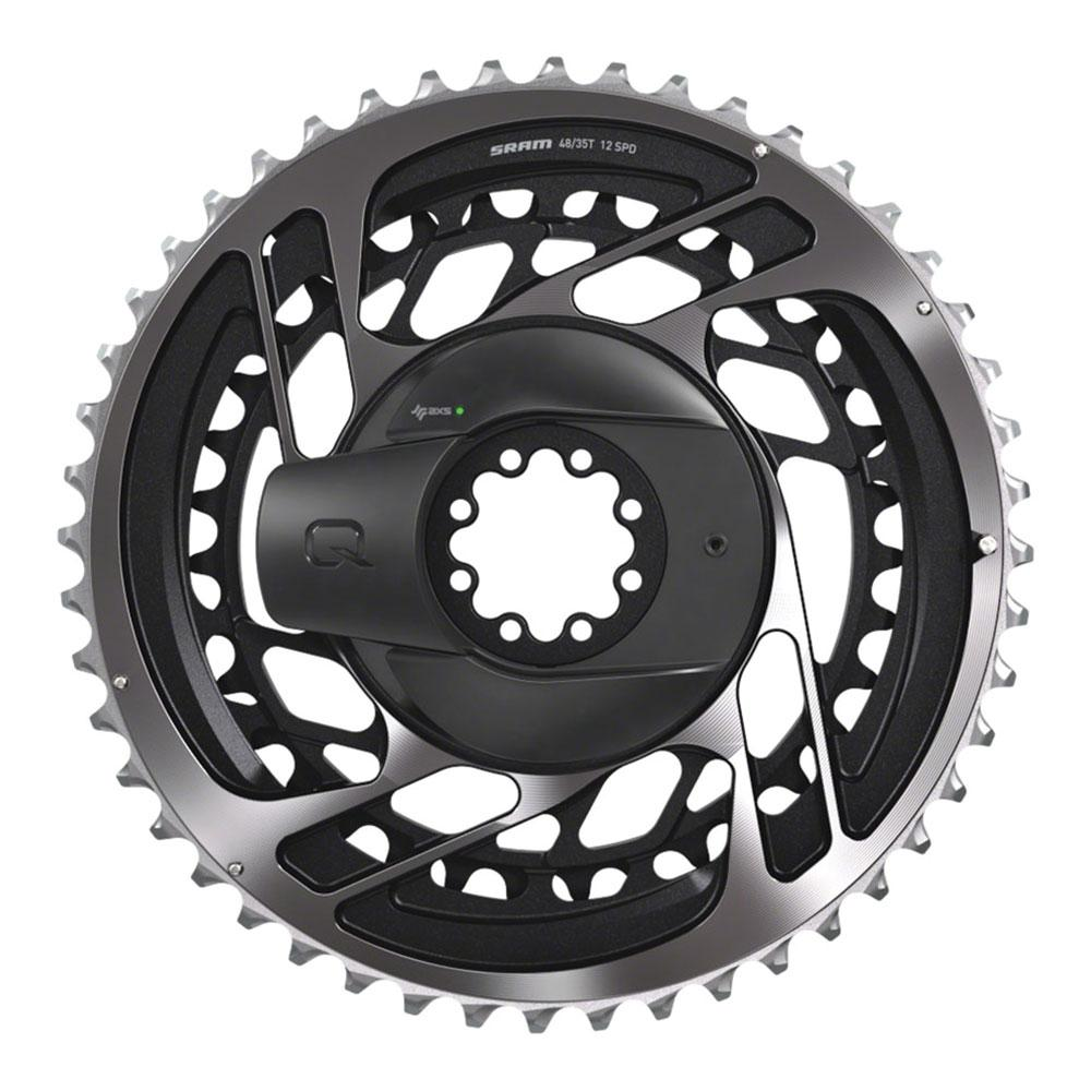 SRAM RED AXS Power Meter Crankset - 172.5mm, 12-Speed, 46/33t, Direct Mount, DUB Spindle Interface, Natural Carbon, D1