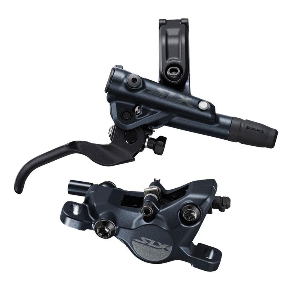 Shimano SLX BR-M7100 Disc Brake and Lever -Hydraulic, Post Mount, 2-Piston, Black