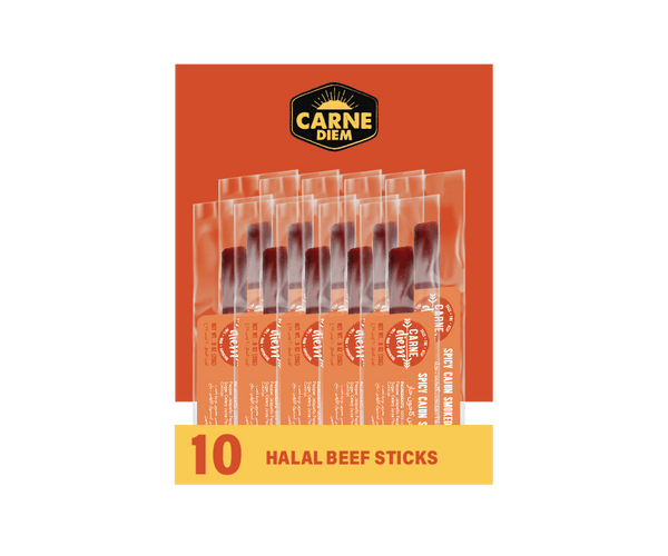 SPICY CAJUN SMOKED - 0.9 oz beef stick