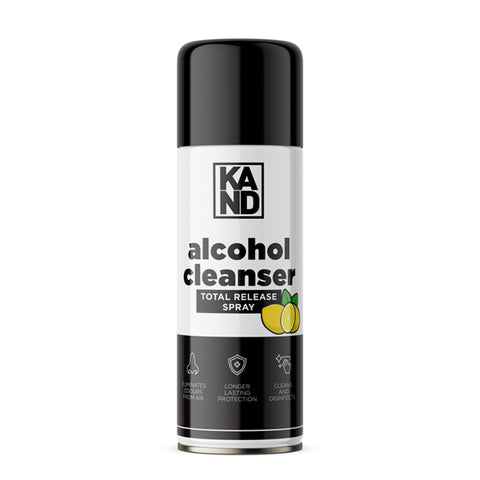 100ml alcohol cleansing total release spray - made in Yorkshire