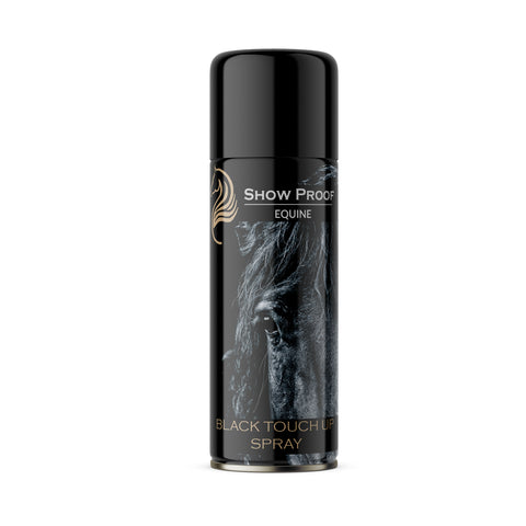 Show proof - black touch up spray by F&B - made in england