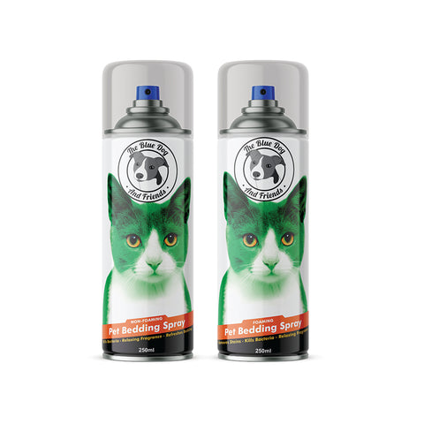 2 Pack 250ml Cat Bedding Spray
