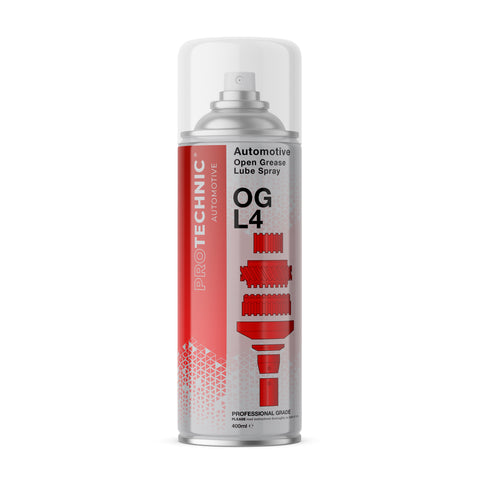Open Grease Lube in Red Branding from ProTechnic - Lubrication of all open gears