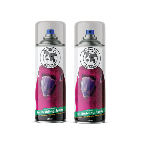 2 Pack 250ml Bird Bedding Spray