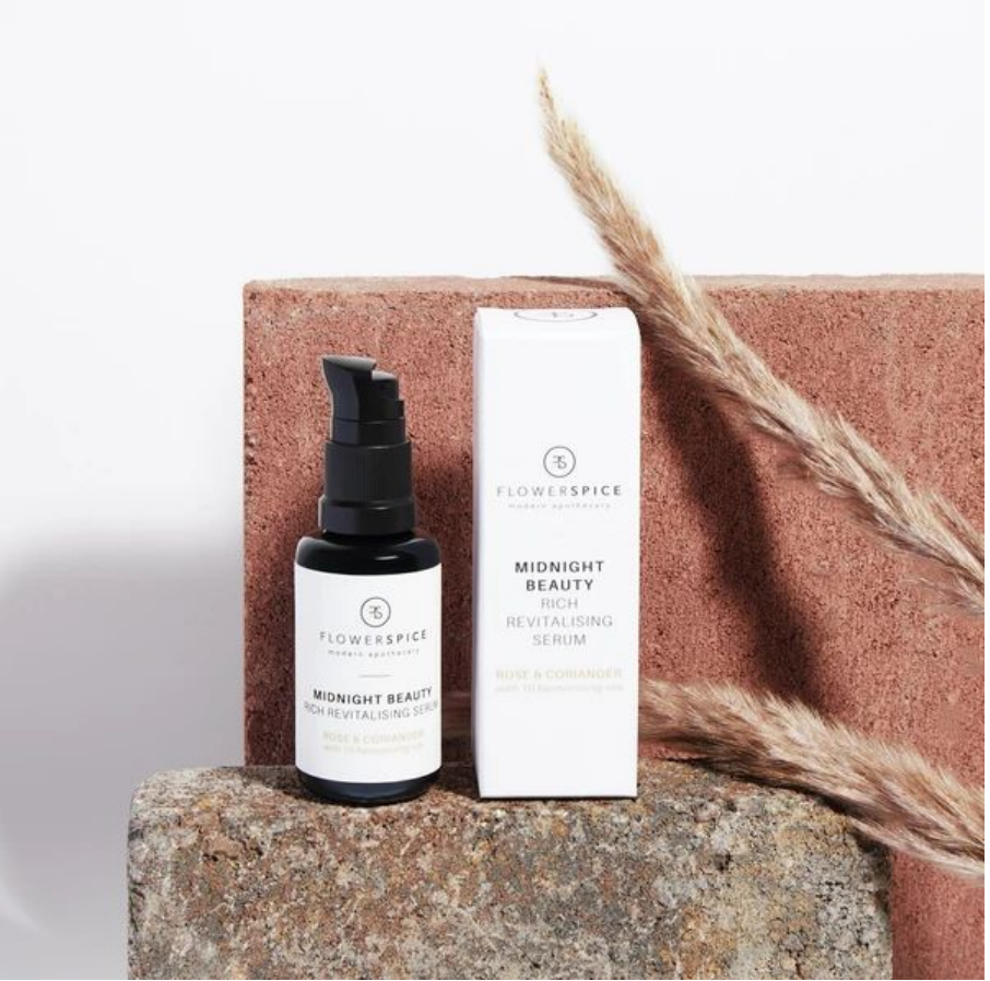 MIDNIGHT BEAUTY RICH REVITALISING SERUM ROSE & CORIANDER 30ML