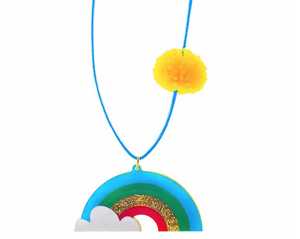 Rainbows Are Awesome Necklace