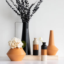 Load image into Gallery viewer, Zion Black Vase- Tall-Maison Collective