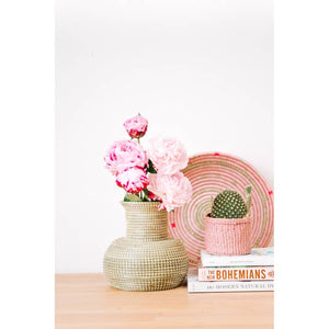 Classic Sweetgrass Vase-Maison Collective