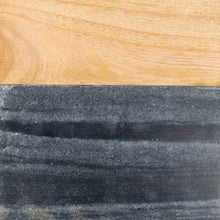 Load image into Gallery viewer, Large Black Marble Wood Square Cutting Board-Maison Collective