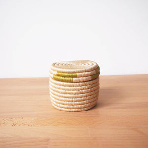 Small Canister Basket: Green