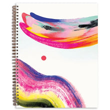 Load image into Gallery viewer, Candy Swirl Painted Notebook