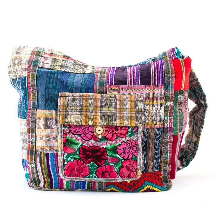 Guatemalan Upcycled Patch Purse