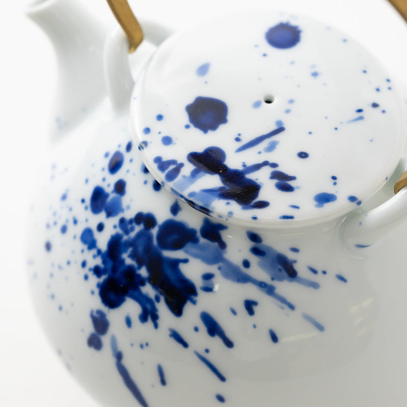 Ink Spray Tea Pot