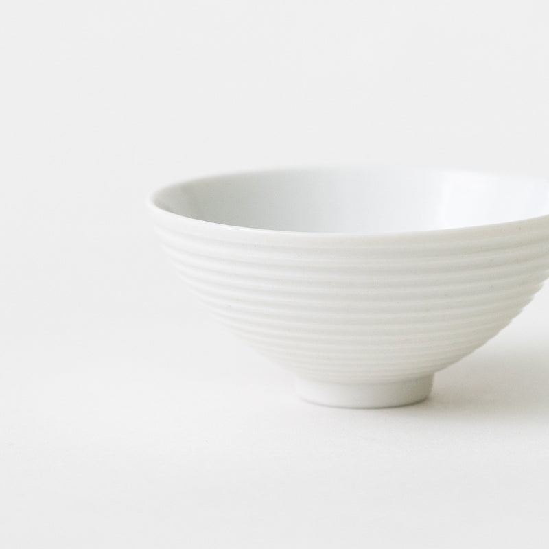 White Sendan Sake/Tea Cup (Deep)